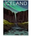 Affiche Iceland