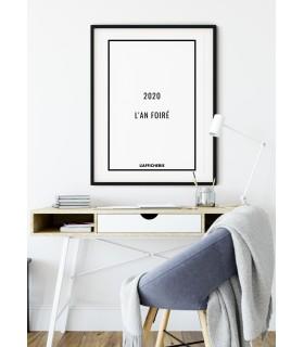 """Affiche """"2020 : L'an foiré"""""""