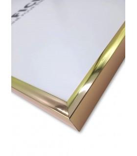 Cadre Aluminium Or