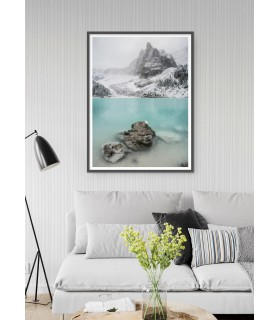 Affiche Nature Winter Lake
