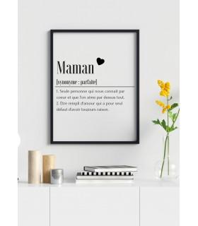 Affiche Définition Maman 2