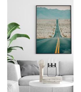 Affiche Nature Desert Road