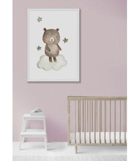 Affiche Enfant Ours