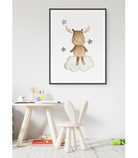 Affiche Enfant Élan