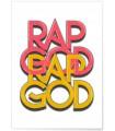 """Affiche """"Rap God"""""""