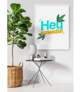 Affiche Hey Summer