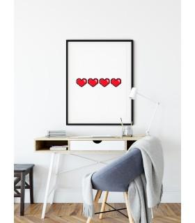 Affiche Coeur de Vie