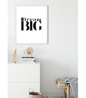 Affiche Dream Big