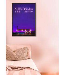 Affiche Shimonada Station nuit