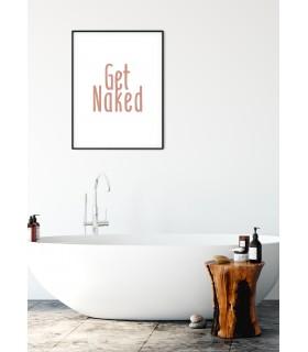 Affiche Get Naked