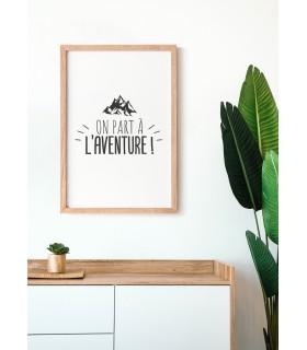 Affiche On part à l'aventure