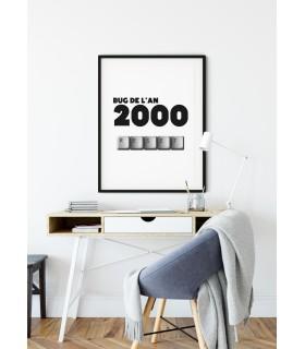 Affiche Bug de l'an 2000