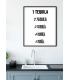Affiche Tequila
