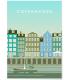 Affiche Copenhague