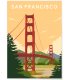 Affiche San-Francisco 2