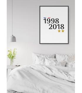 Affiche 1998-2018