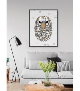 Affiche Aigle scandinave