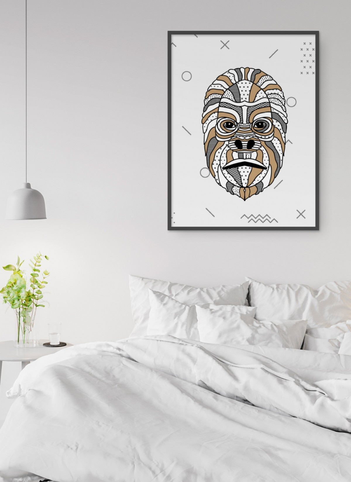 Affiche Gorille scandinave