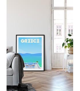Affiche Grèce