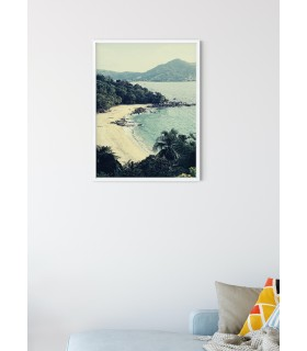 Poster nature Paysage Littoral
