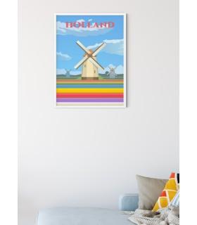 Affiche Hollande