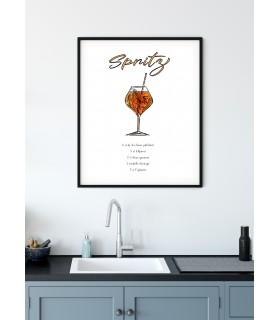 Affiche Cocktail Spritz