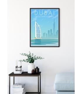 Affiche Dubaï