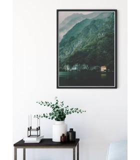 Affiche nature Paysage montagne n°2