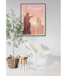 Affiche Prague
