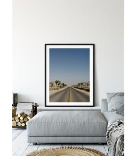 Affiche Open highway