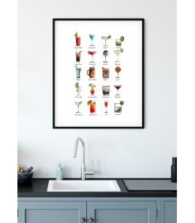 Affiche Multi Cocktail