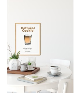 Affiche Shooter Oatmeal Cookie