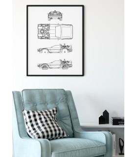 Affiche DeLorean