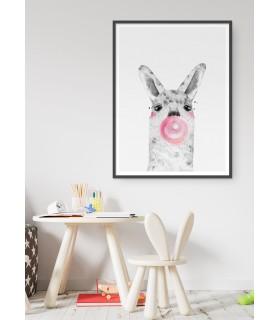 Affiche Bulle d'Alpaga