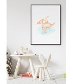 Affiche Enfant Ptéranodon