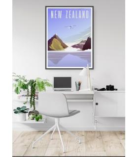 Affiche New-Zealand