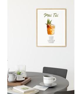 Affiche Cocktail Mai Tai