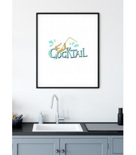 Affiche Fresh Cocktail