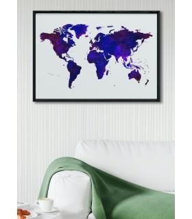 Poster Carte du monde 5