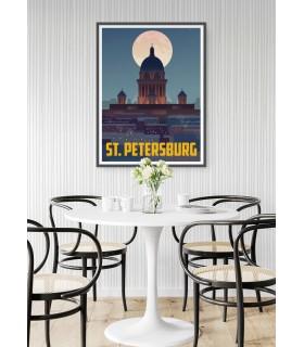 Affiche St-Petersburg