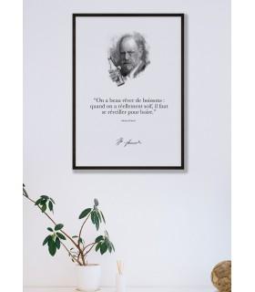 "Affiche Freud : ""On a beau rêver de boissons..."""