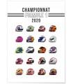 """Affiche """"Championnat Formule 1 2020"""""""