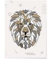 Poster Lion scandinave
