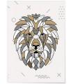 Poster Lion scandinave